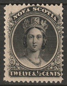 Nova Scotia 1860 Sc 13 MH*