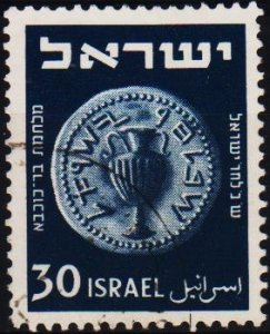 Israel. 1950 30pr S.G.45 Fine Used