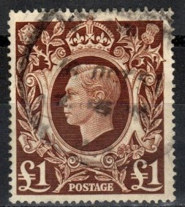 Great Britain #275  F-VF Used CV $20.00  (X2816)