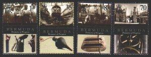 Bermuda. 2010. 1009-12. Shipbuilding, shipyards. MNH.