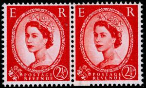 SG565 SPEC S54a 2½d carmine-red, NH MINT. Cat £30. COIL JOIN.