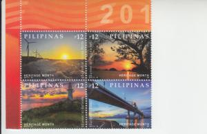 2017 Philippines Sunsets B4 (Scott 3727) MNH