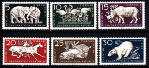 GDR 317-22 mnh set