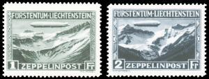 Liechtenstein #C7-C8 MNH CV$565 [54672]