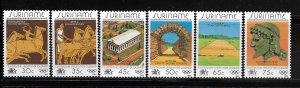 SURINAME, 675-686, MINT HINGED, 1984 OLYMPIC GAMES