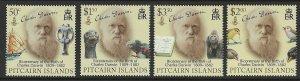 Pitcairn Islands Scott 692-695 MNH! Complete Set!