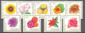 Poland 1430-38 MNH Flowers SCV4.30