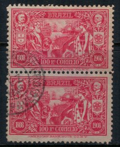 Brazil #190 pair  CV $2.50