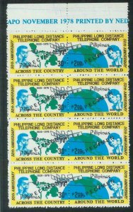 78715 - Philippines - STAMPS:  TELECOMMUNICATIONS   MNH - Overprinted SPECIMEN
