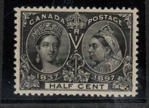 Canada #50 Extra Fine Mint Lightly Hinged Gem