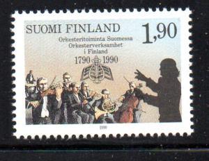 Finland Sc 812 1990 Turku Finnish Orchestras stamp mint NH