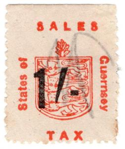 (I.B) Guernsey Revenue : Sales Tax 1/- (German Occupation)