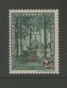 Belgium 1932 Sc E6 MNH