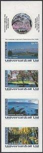 NEW ZEALAND Universal Mail $7.50 International Mail Booklet - Christchurch..R503