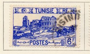 Tunisia 1942-46 Early Issue Fine Used 6F. 144843
