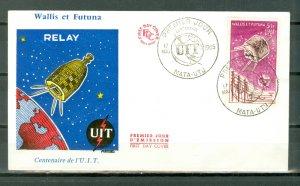 WALLIS & FUTUNA 1965  ITU #C20...FDC