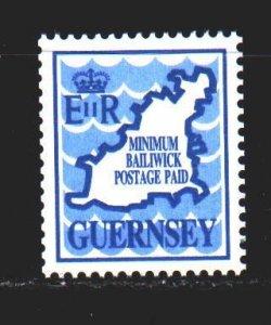 Guernsey. 1989. 482. Guernsey map. MNH.