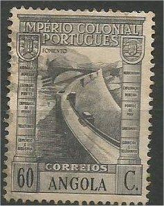ANGOLA, 1938, used 60c Vasco da Gama Scott 283
