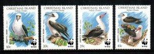 Christmas islands  270 - 273  MNH cat $ 8.25