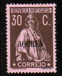 Azores #167  Mint  Scott $80.00