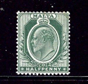 Malta 30 MH 1904 issue