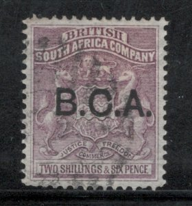 British Central Africa 1891 Overprint 2sh 6p Scott # 9 Used