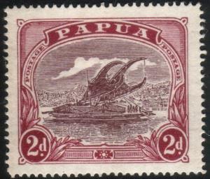 PAPUA 1916-31 2d Lakatoi SG96a fine mint...................................88764