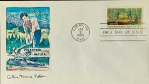 Cathie France Nelson 2037 Civilian Conservation Corps Luray, Virginia