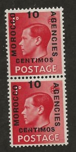 GREAT BRITAIN OFFICES - MOROCCO SC# 79-79a  FVF/MLH 1936
