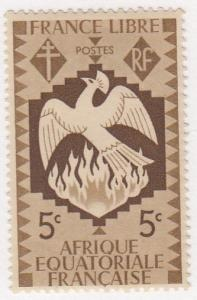 French Equatorial Africa, Scott #142 (2), MH