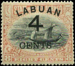 Labuan Scott #89 Mint