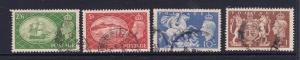 Great Britain the 1951 high value set used