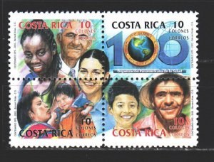 Costa Rica. 2002. 1563-66 from the series. Pan American Health Organization. ...