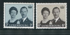 Luxembourg MNH 475-6 King & Queen