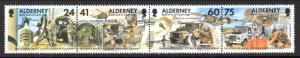 Alderney 91 Military MNH VF