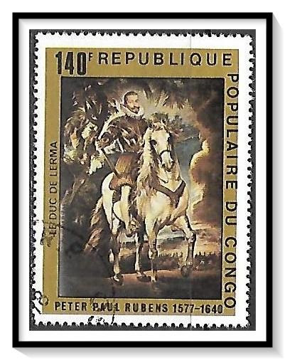 Congo People's Republic #434 Rubens Paintings Used