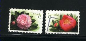 Canada #2261-62  used  VF 2008 PD