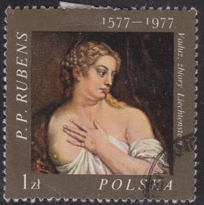 Poland 2209 USED 1977 Venus By: Rubens 1zł