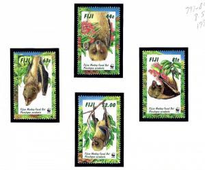 Fiji 797-800 MNH 1997 Bats