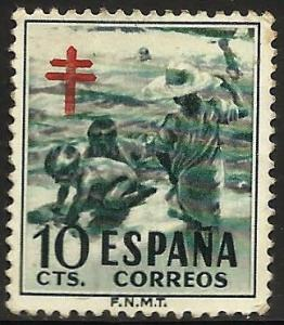 Spain Postal Tax 1951 Scott# RA33 Used