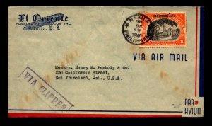Philippines 1940 Clipper Cover to USA - L22593