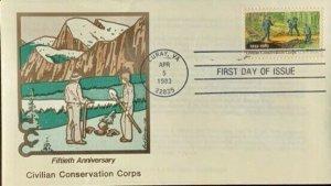 PANDA 2037 Civilian Conservation Corps Luray, Virginia