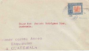 1926, 1st Flt., Esquipulas to Guatemala City, Guatemala (32590)