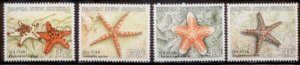 Palau New Guinea 1987  SC# 682-5 MNH L189