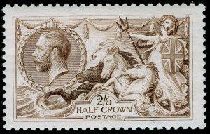 SG415a, 2s 6d pale brown, LH MINT. Cat £175.