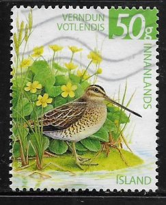 ICELAND 1242  USED  WETLANDS CONSERVATION