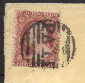Doyle's_Stamps: 1857 Type IV  3c Washington Issue Scott #26A Cvr (Weiss)