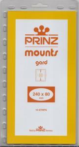 PRINZ CLEAR MOUNTS 240X80 (10) RETAIL PRICE $9.50