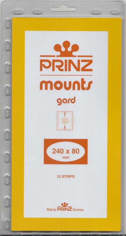 PRINZ 240X80 (10) BLACK MOUNTS RETAIL PRICE $9.50