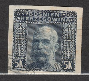 Bosnia & Herzegovina - 1906 5K Franz Josef imperforated (7561)